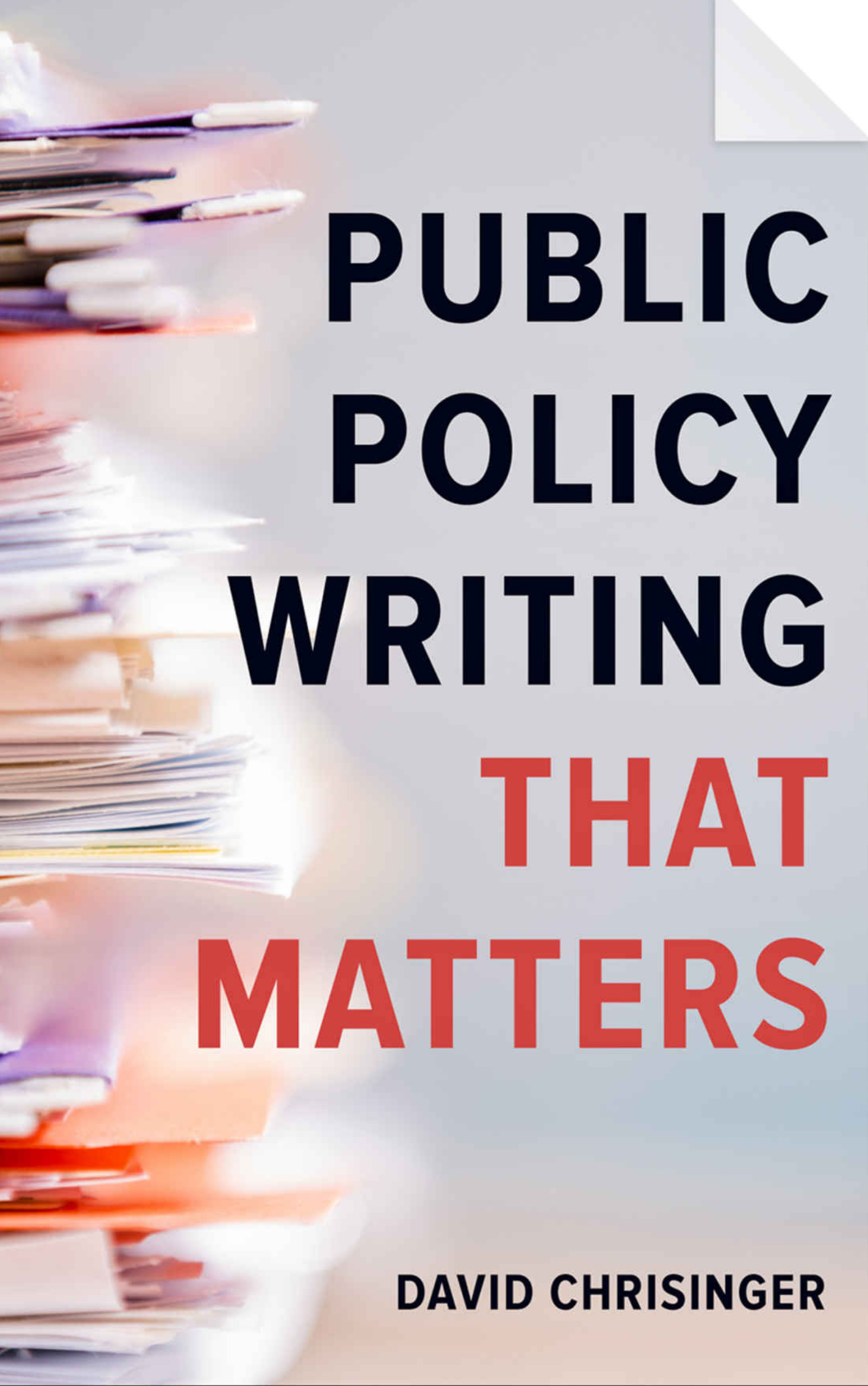 Public Policy That Matters