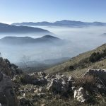 Near the Top of Mt. Sammucro