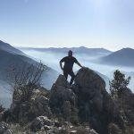 At the Summit of Mt. Sammucro