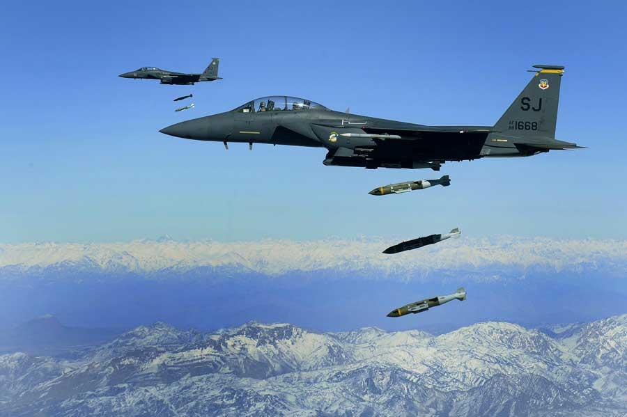 F 15E Strike Eagles