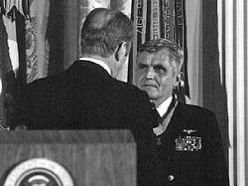 Medal of Honor Recipient, James Stockdale